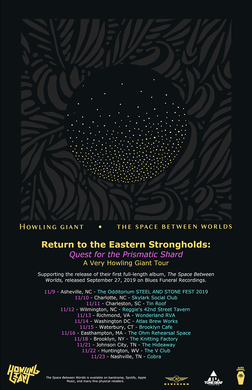 HOWLING GIANT Announce November Tour Dates For New Album THE